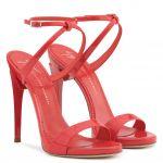 G HEEL - 涼鞋 - 红色 - Giuseppe Zanotti中国官方网站