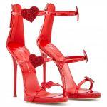 HARMONY LOVE - 涼鞋 - 红色 - Giuseppe Zanotti中国官方网站