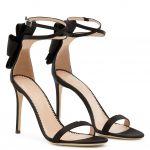ALINA BOW - 涼鞋 - Black - Giuseppe Zanotti中国官方网站