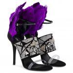 TALIA - 涼鞋 - 黑色 - Giuseppe Zanotti中国官方网站