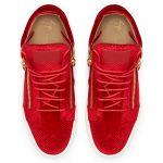 KRISS VELVET - 红色 - 中帮运动鞋