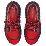 URCHIN - 红色 - 低帮运动鞋
