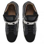 FRANKIE - 黑色 - 中帮运动鞋