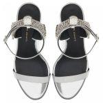 JAMILA - 银色 - 凉鞋