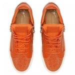 KRISS - 橙色 - 中帮运动鞋